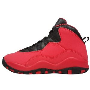 AIR JORDAN 10 RETRO GS -Fusion Red/Black-|outnumber