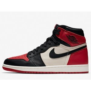 555088-610 AIR JORDAN 1 RETRO HIGH OG BRED TOE GYM...