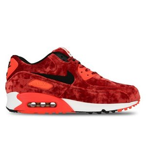 725235-600 AIR MAX 90 ANNIVERSARY GYM RED/BLACK-INFRARED-MT GLD|outnumber