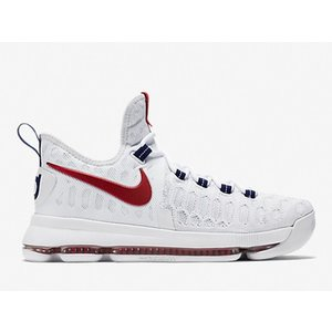 844382-160 NIKE ZOOK KD 9 XI EP USA WHITE/UNIVERSITY RED ナイキ ケビンデュラント|outnumber
