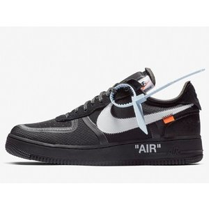 AO4606-001 NIKE AIR FORCE 1 LOW OFF-WHITE BLACK ナイ...