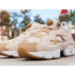 AQ9350 REEBOK INSTA PUMP FURY TED 2 BAIT HAPPY TED WHITE/TAFFY/WHITE/BROWN リーボック インスタ ポンプフューリー テッド2 バイト|outnumber