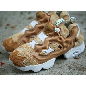 AQ9351 REEBOK INSTA PUMP FURY TED 2 BAIT NASTY TED TAFFY/WHITE/WHEAT/BROWN リーボック インスタポンプフューリー テッド2 バイト|outnumber