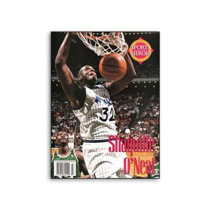 BECKETT SPORTS HEROES SHAQUILLE O'NEAL|outnumber