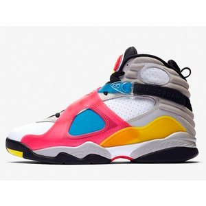 BQ7666-100 AIR JORDAN 8 RETRO SP WHITE RED ORBIT エ...