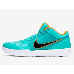 CQ3869-300 NIKE ZOOM KOBE 4 PROTRO UNDEFEATED TEAL...