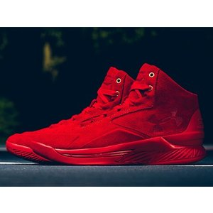 1298701-600 UNDER ARMOUR CURRY 1 LUX MID SUEDE RED LIMITED 600 PAIRS アンダーアーマー ステフィンカリー ステファンカリー 600足限定 スエード レッド outnumber