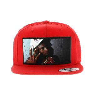 HEISMAN LEGENDS MICHAEL JORDAN 3PEAT SNAPBACK CAP -RED-|outnumber