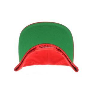 HEISMAN LEGENDS MICHAEL JORDAN 3PEAT SNAPBACK CAP -RED-|outnumber|03