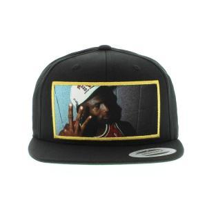 HEISMAN LEGENDS MICHAEL JORDAN 3PEAT SNAPBACK CAP -BLACK-|outnumber