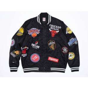Supreme NIKE NBA Teams Satin W...