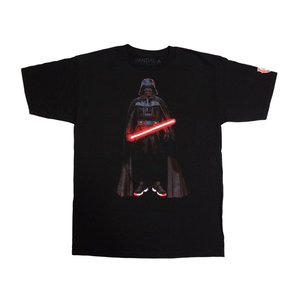 VANDAL-A DARTH VADER AIR JORDAN 11 TEE -Black- STAR WARS スターウォーズ ダースベイダー|outnumber
