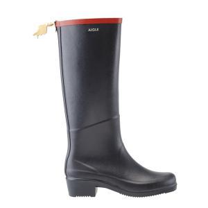 AIGLE(エーグル)MISS JULIETTE A ミスジュリエットA [日本正規品] ZZF8408 レディース ラバーブーツ レインブーツ 長靴 ブラック ネイビー|outspot|02