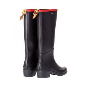 AIGLE(エーグル)MISS JULIETTE A ミスジュリエットA [日本正規品] ZZF8408 レディース ラバーブーツ レインブーツ 長靴 ブラック ネイビー|outspot|05
