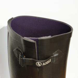 AIGLE(エーグル)AIGLENTINE エーグランティーヌ [日本正規品] ZZF8587 レディース ラバーブーツ レインブーツ 長靴 ブラック ブラウン outspot 06