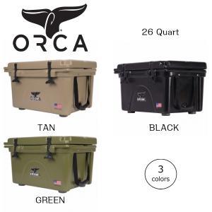 ORCA オルカ クーラーボックス 26 Quart キャンプ、ピクニック、釣りなどアウトドアで大活躍|outtail
