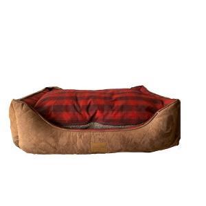 PENDLETON(ペンドルトン)ドッグベッド Mサイズ(RED OMBRE) おしゃれで洗える 送料無料|outtail