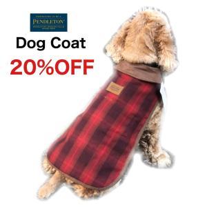 【SALE】PENDLETON(ペンドルトン)犬用ロングコート XSロング サイズ 寒い日のお散歩に|outtail