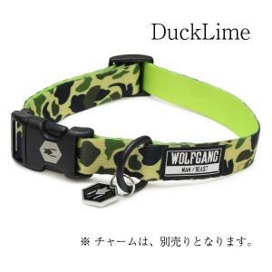 WOLFGANG Collar Lサイズ DuckLime (ウルフギャング カラー) お洒落なカラー Lサイズ|outtail