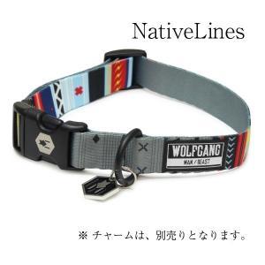 WOLFGANG Collar Lサイズ NativeLines (ウルフギャング カラー) お洒落なカラー Lサイズ|outtail