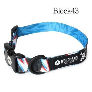 WOLFGANG Collar M Block43 (ウルフギャング カラー) お洒落なカラー Mサイズ|outtail