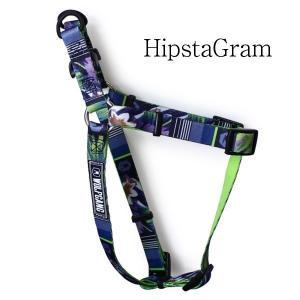 WOLFGANG Harness Mサイズ HipstaGram(ウルフギャングハーネス)お洒落なハーネス Mサイズ|outtail