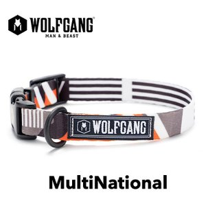 WOLFGANG MultiNational Sサイズ 首輪 (ウルフギャング マルチナショナル)|outtail