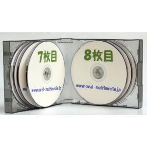 割れにくいPP素材 35mm厚 12枚収納CDケース グレー1個|ovalmultimedia|04