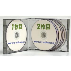 割れにくいPP素材 35mm厚 12枚収納CDケース グレー1個|ovalmultimedia|06