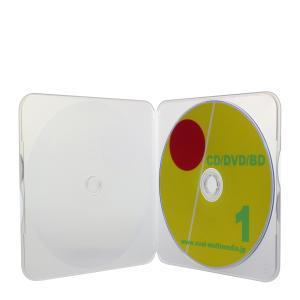 郵便・郵送に便利 CDメールケース クリア1個|ovalmultimedia