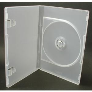 日本製 メディアを1枚収納DVDケース トールケース ポップマンボウトールケース クリア1個 ovalmultimedia