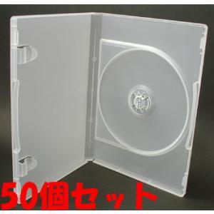 日本製 15mm厚に1枚ディスクを収納 ポップマンボウトールケース クリア50個 ovalmultimedia