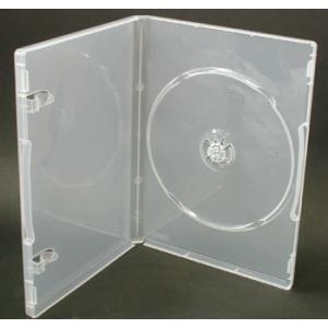 日本製 15mm厚に1枚ディスクを収納 ポップマンボウトールケース スーパークリア1個 ovalmultimedia