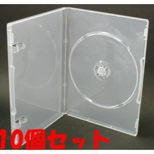 日本製 15mm厚に1枚ディスクを収納 ポップマンボウトールケース スーパークリア10個 ovalmultimedia