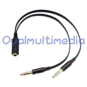 スマホのイヤフォンをパソコンで使うケーブル|ovalmultimedia