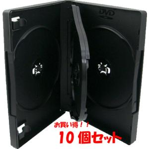 DVDケース トールケース 3枚収納 ブラック 27mm厚Mロック 10個 ovalmultimedia