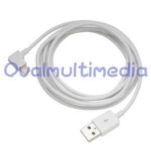 L型ライトニング互換ケーブル 2mホワイト ovalmultimedia