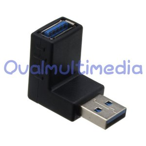 L字 USBコネクタ|ovalmultimedia