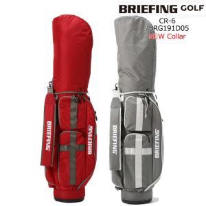BRIEFING/ブリーフィングゴルフ/BRG191D05/CR-6_キャディバッグ/カートキャディ...