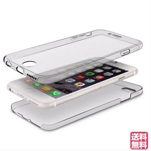 ■商品説明■ iPhoneのデザインを損ねない 背面だけでなく 液晶面まで保護♪360°全てをフルカ...