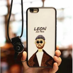 iPhone 7 レオン TPU スマホカバー スマホケース 大人気映画 LEON モチーフ