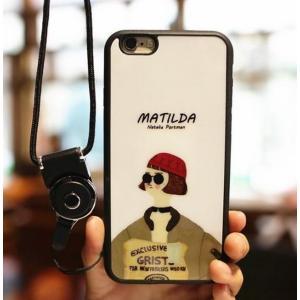 iPhone 7 マチルダ TPU スマホカバー スマホケース 大人気映画 LEON モチーフ