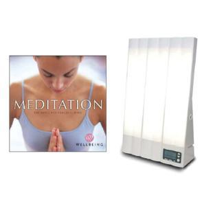 ブライトライトME+ と 「メディテーション瞑想」 CDのセット