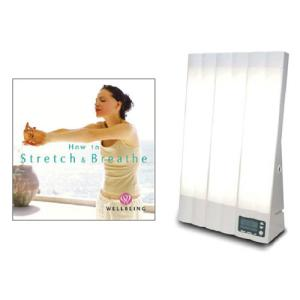 ブライトライトME+ と 「リラックス呼吸法&ストレッチ」 CDのセット