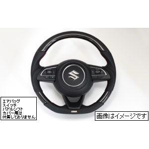 トラスト ステアリング Z33S ブラックカーボン   レッドステッチ スイフトスポーツ ZC33S スイフト ZC13S/ZC43S/ZC53S/ZD53S/ZC83S/ZD83S 特価販売 16690006|over-whelm7