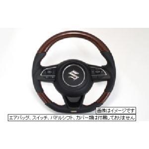 トラスト ステアリング ブラックカーボン&レッドカーボン  レッドステッチ スイフトスポーツ ZC33S スイフト ZC13S/ZC43S/ZC53S/ZD53S/ZC83S/ZD83S 16690007|over-whelm7