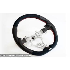 トラスト ステアリング ブラックカーボン&レッドカーボン  レッドステッチ スイフトスポーツ ZC33S スイフト ZC13S/ZC43S/ZC53S/ZD53S/ZC83S/ZD83S 16690007 over-whelm7 02