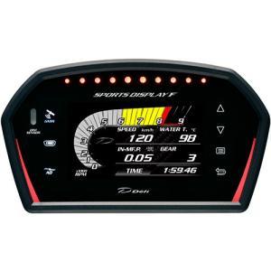 送料無料 Defi Sports Display F(デフィスポーツディスプレイエフ)  品番 DF15902  DSDFデフィメーター 日本精機 特価販売|over-whelm7