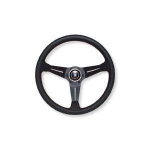 NARDI スポーツ タイプA ブラックパンチングレザー/レッドステッチ 33φ  N005 ナルディハンドル 特価販売|over-whelm7