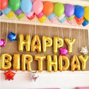 ハッピーバースデー バルーン 文字バルーン セット HAPPY BIRTHDAY お誕生日 誕生日|overlap